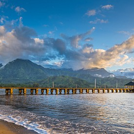Плажът Ханалей