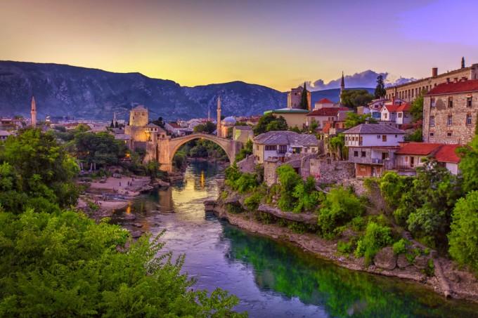 Босна и Херцеговина – балканска среща на Изтока и Запада