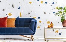 Терацо е една от тенденциите, които ще бъдат актуални и през 2019 година. Екстравагантно смелите акценти върху текстила или пода придават един по-особен характер на пространството. Има много начини, по които може да вплетете тази тенденция в дома си – чрез тапети, текстил или чрез подови настилки.