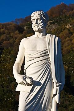Паметникът на Аристотел в Стагира