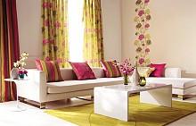 Трендовете в интериора у дома: флорален принт