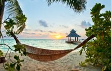 На море през зимата: Кунфунадо, Малдиви