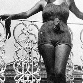 Бански костюм от 1935 г.
