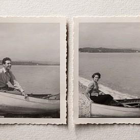 През 30-те не всички са имали смелост да обличат бански.
