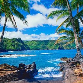 Крайбрежието на Мауи е като от пощенска картичка
