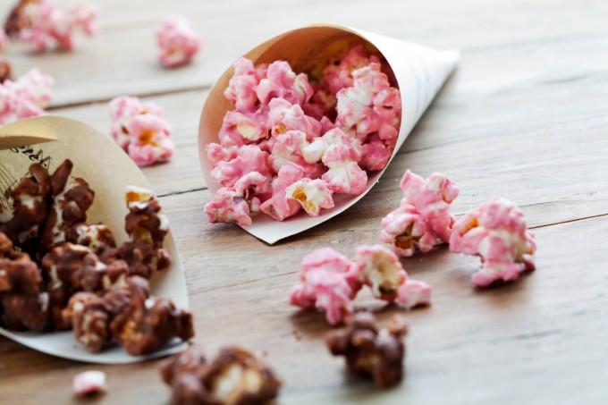 Животът е сладък с... розови пуканки!