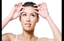 Как да се спасите от бръчките по челото?