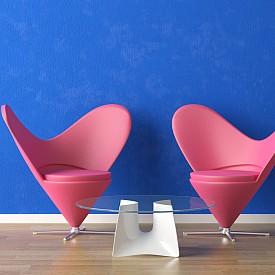 Сърца под формата на стол, в който да се сгушите, когато имате нужда от прегръдка.