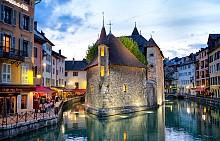 Езеро Анси, Франция