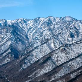 84% от окръг Пьонгчанг е с надморска височина над 750 м!