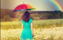 """""""Ако искате да видите дъгата, трябва да се примирите с дъжда."""""""