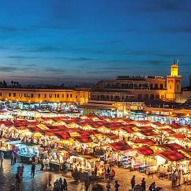 """Пазарът """"Джемаа ел Фна"""""""