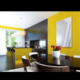 Теория на цветовете в интериора: жълто