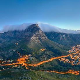 Кейптаун, гледан отгоре