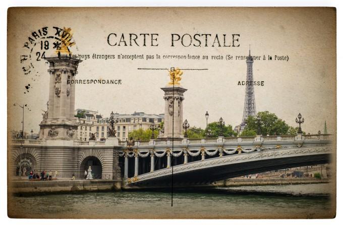 """Мостът """"Александър III"""" преди..."""