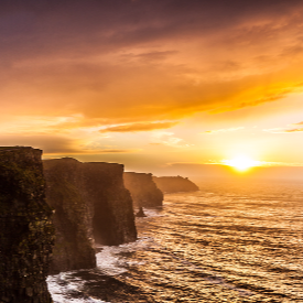 Скалите на Мохер в Ирландия