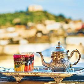 Традиционният за тук ментов чай