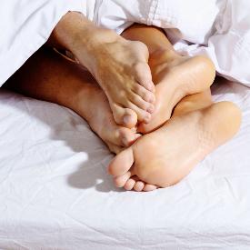 Без чорапи по-трудно стигаме до оргазъм.
