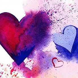 Идеи за лесни рисунки върху картичката за Свети Валентин