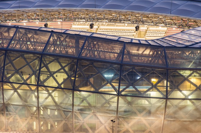 Allianz Riviera е един от първите еко-стадиони в света.