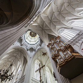 "В готическата катедрала ""Дева Мария Богородица"""