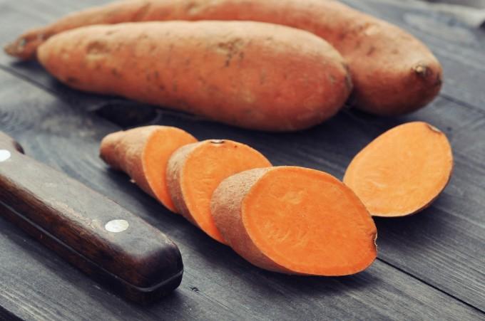 Сладките картофи също играят ключова роля в предпазването от хрема