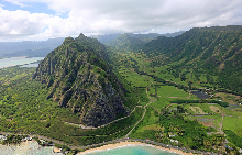 Хавайския остров Оаху