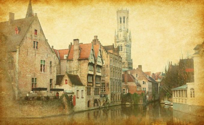 Историческият център на Брюж
