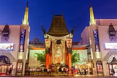"""Grauman's Chinese Theater на """"Холивуд Булевард"""", където по традиция са премиерите на много от холивудските филми"""
