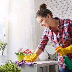 Чистенето, бърсенето, миенето и подреждането на дома пазят от рак на гърдата.