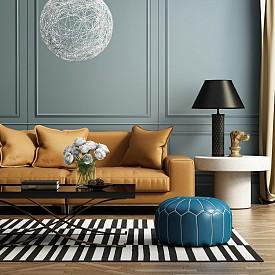 Златен диван в хола? Защо не!