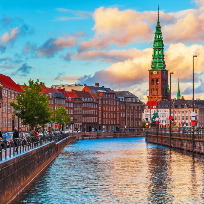 Копенхаген е пристанищен град, а едно от привилегията...