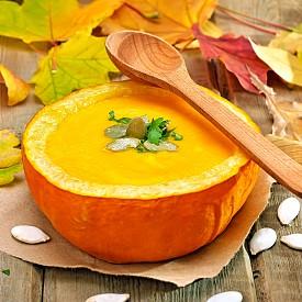 Вегетарианска крем супа от тиква