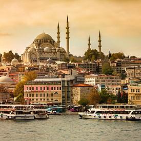 Истанбул по залез