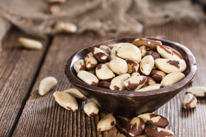 Бразилските орехи са богати на селен