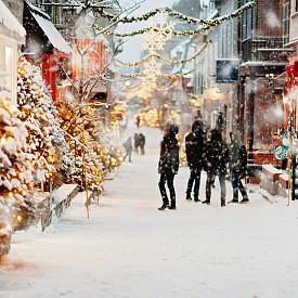 Зимно време в Стария град