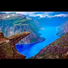 Trolltunga, Норвегия