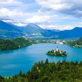 Езеро Блед и 50-те нюанса зелено на Словения