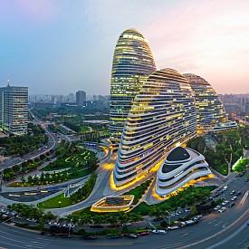 Модерна архитектура в Пекин