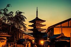 Будистката пагода Ясака в Киото