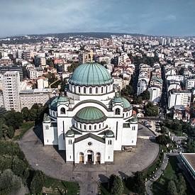 """Църквата """"Св. Сава"""" в Белград"""