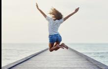 Който изразява радостта си и с тяло, удвоява щастието си.