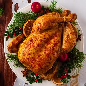 Сладостта на Коледа: печено пиле с мед и горчица