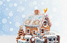 Красиви идеи за джинджифилови къщички и декорации