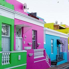 Цветният квартал Bo Kaap