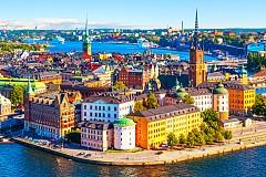 Стокхолм от въздуха