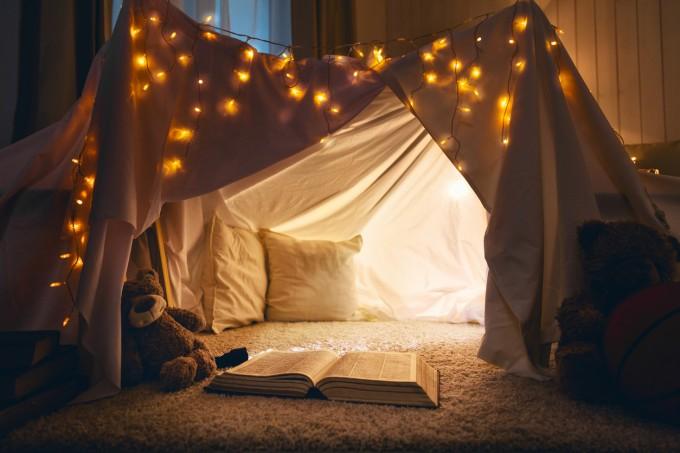 Хюга уютът е лесен за постигане, иска се само малко креативност.