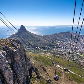 Кабинковият лифт на Table Mountain