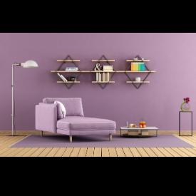 Теория на цветовете в интериора: лилаво