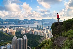 Високо над Хонконг